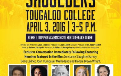 """Standing on My Sisters' Shoulders"" Film Screening and Discussion on April 3"