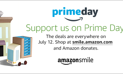 TODAY: Support Us on Prime Day!