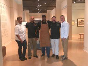 The 2017 chefs for the Filmmaker's Bash