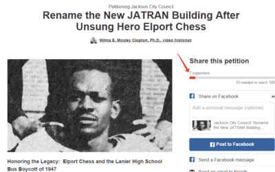 REMINDER: Elport Chess Petition to the Jackson City Council