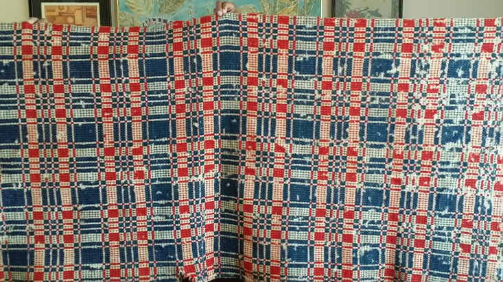 Antique Colonial Era Wall Hanging