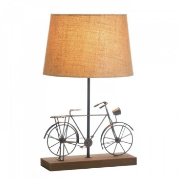 Old-Fashion Bicycle Table Lamp from The Spinster's Shoppe, LLC